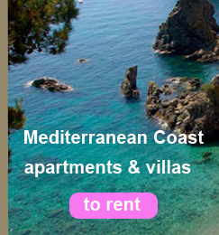 mediterranean coast apartments & villas to rent